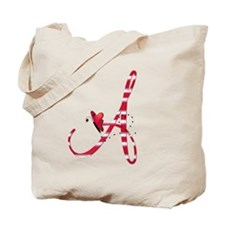 Monogrammed (A) Tote Bag