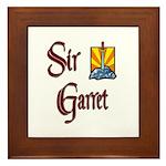 Sir Garret Framed Tile