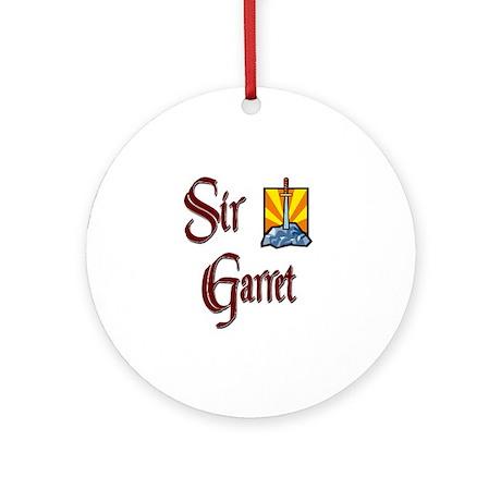Sir Garret Ornament (Round)