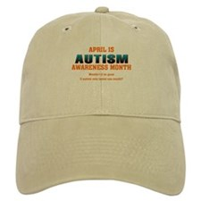 Autism Awareness Month Baseball Cap