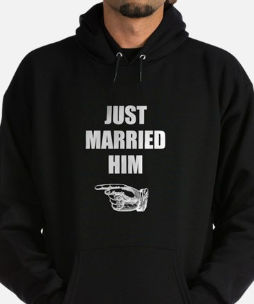 Just Married Him Sweatshirt
