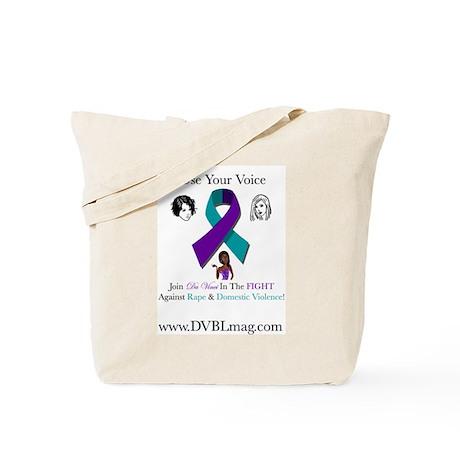 D.V.B.L Against Rape & Domestic Violence Tote