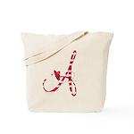 Monogrammed (A) Tote Bag