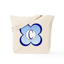 Monogrammed (C) Tote Bag