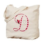 Monogrammed (D) Tote Bag