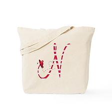 Monogrammed( N) Tote Bag