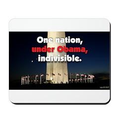 One Nation Under Obama Mousepad