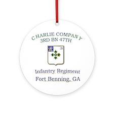 CCO 3RD 47TH Ornament (Round)