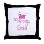 Princess Gail Throw Pillow