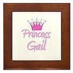 Princess Gail Framed Tile