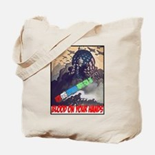 Blood on your hands Tote Bag