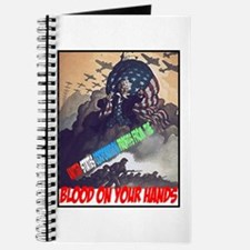 Blood on your hands Journal