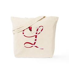 Monogrammed( L) Tote Bag