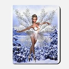 Snowflake Fairy Mousepad
