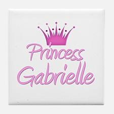 Princess Gabrielle Tile Coaster