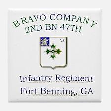 BCO 2ND 47TH Tile Coaster