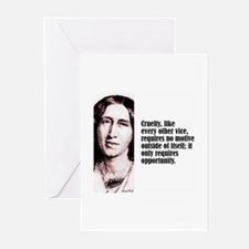 """Eliot """"Cruelty"""" Greeting Cards (Pk of 10)"""