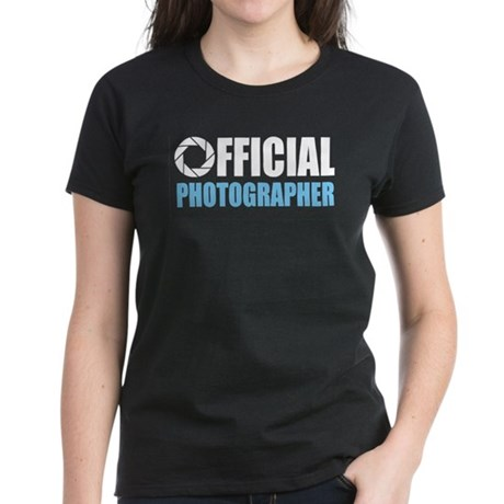 Official Photographer Women's Dark T-Shirt