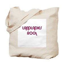 LANDLADIES  ROCK Tote Bag