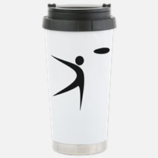 Disc Golf logos Stainless Steel Travel Mug