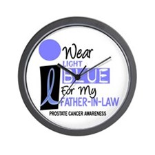 I Wear Light Blue For My Father-In-Law 9 Wall Cloc