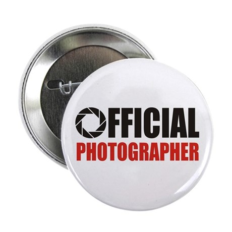 "Official Photographer 2.25"" Button"