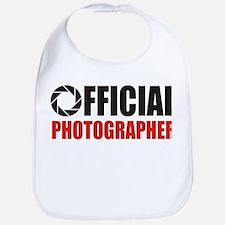 Official Photographer Bib