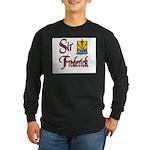 Sir Frederick Long Sleeve Dark T-Shirt