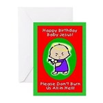 Baby Jesus Greeting Cards (Pk of 10)