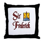 Sir Frederick Throw Pillow