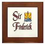 Sir Frederick Framed Tile