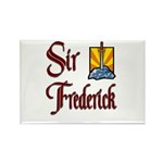 Sir Frederick Rectangle Magnet (10 pack)