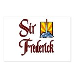 Sir Frederick Postcards (Package of 8)