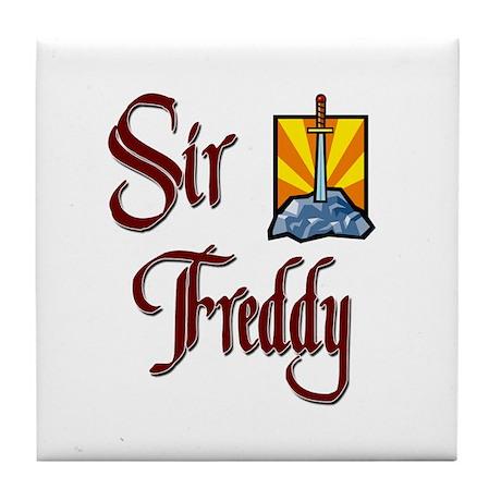 Sir Freddy Tile Coaster