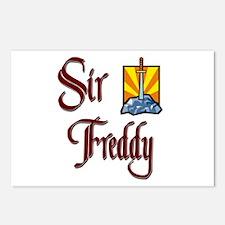 Sir Freddy Postcards (Package of 8)
