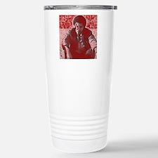 Young Barack Travel Mug