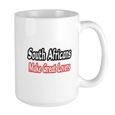 """South Africans...Lovers"" Mug"
