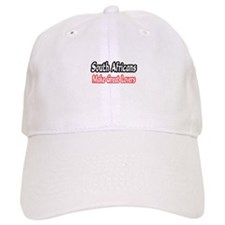 """""""South Africans...Lovers"""" Baseball Cap"""