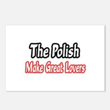 """""""Polish...Great Lovers"""" Postcards (Package of 8)"""