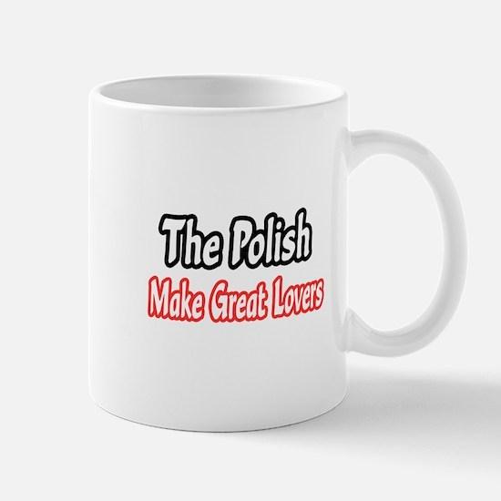 """Polish...Great Lovers"" Mug"