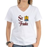 Sir Frankie Women's V-Neck T-Shirt