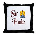 Sir Frankie Throw Pillow