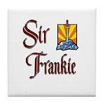 Sir Frankie Tile Coaster