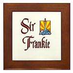 Sir Frankie Framed Tile