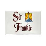 Sir Frankie Rectangle Magnet (10 pack)