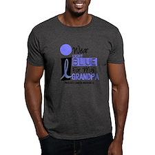 I Wear Light Blue For My Grandpa 9 T-Shirt