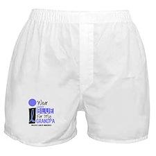I Wear Light Blue For My Grandpa 9 Boxer Shorts