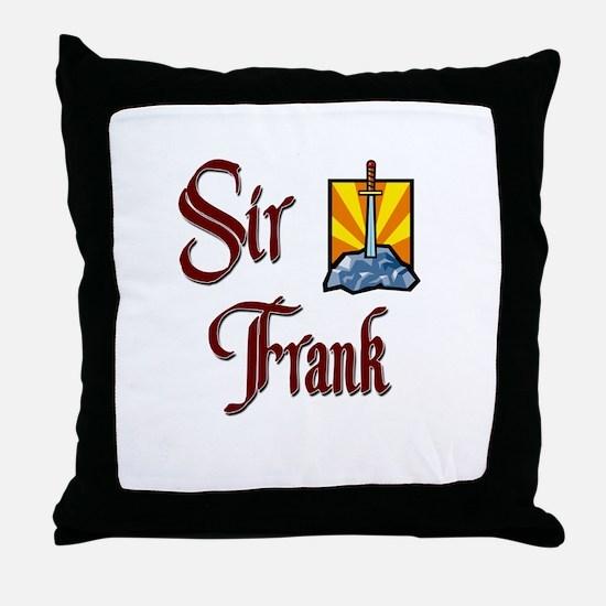 Sir Frank Throw Pillow