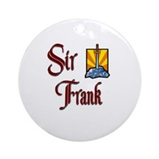 Sir Frank Ornament (Round)