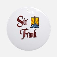 Sir Frank Ornament (Round)